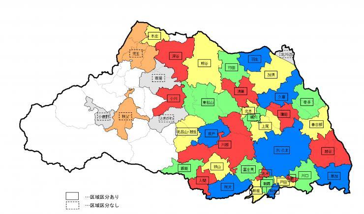 都市計画区域の整備、開発及び保全の方針の策定状況 - 埼玉県