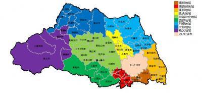県 北部 埼玉 埼玉県南部と北部とは厳密にどこで区別するのでしょうか?